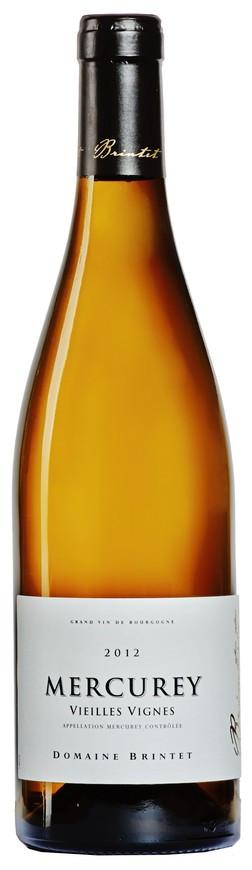 """Domaine Brintet, Mercurey AOC Blanc """"Vieilles Vignes"""", 2012"""
