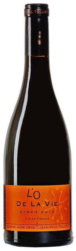 """Domaine Gros-Tollot, Vin de France Rouge """"L´O de la Vie"""", 2012"""