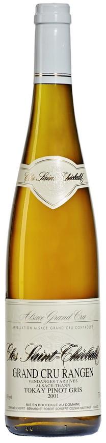 """Domaine Schoffit, Tokay Pinot Gris Grand Cru """"Rangen - Clos Saint-Théobald"""", Vendanges Tardives, 2001"""