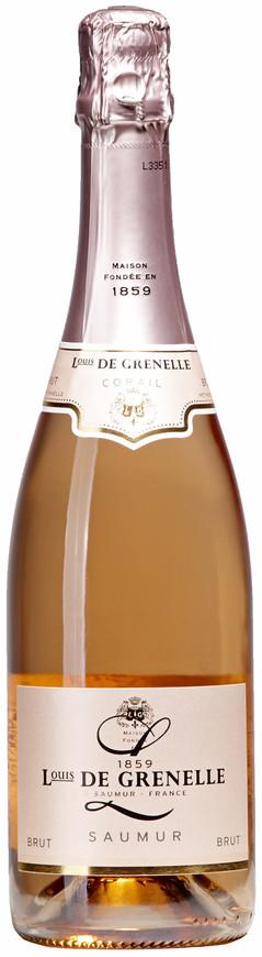 Domaine Louis de Grenelle, Saumur Brut AOC Rosé NV