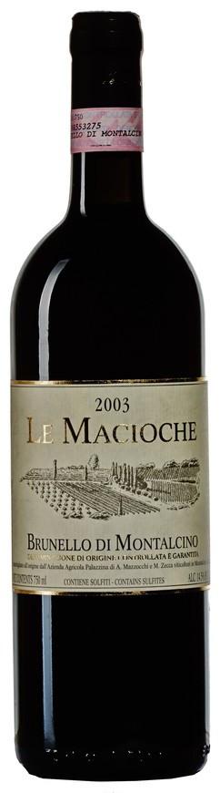 Le Macioche, Brunello di Montalcino DOCG, 2003