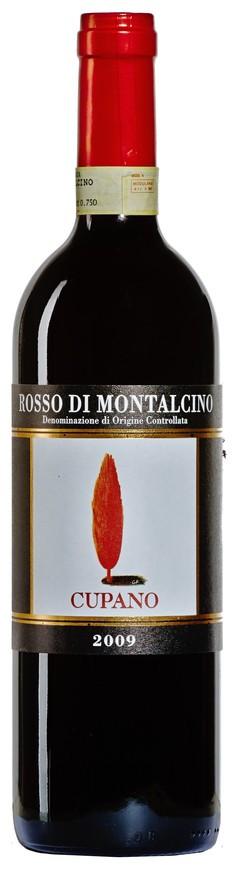 Cupano, Rosso di Montalcino DOC, 2009