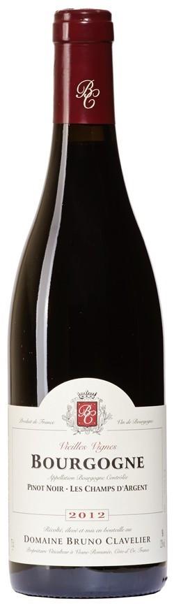 Domaine Bruno Clavelier, Bourgogne Pinot Noir AOC, 2013