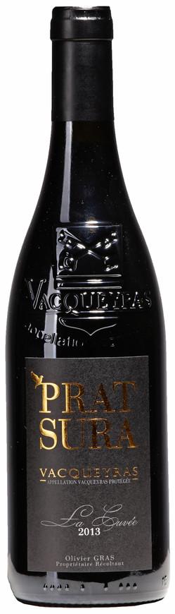 """Domaine Prat Sura, Vacqueyras AOC """"La Cuvée"""", 2013"""