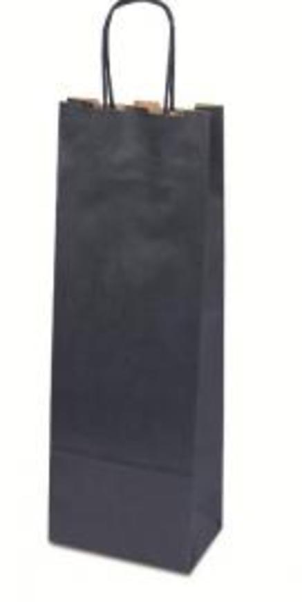 Papírová taška Basic modrá