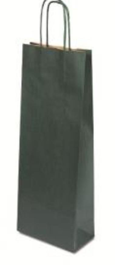 Papírová taška Basic zelená