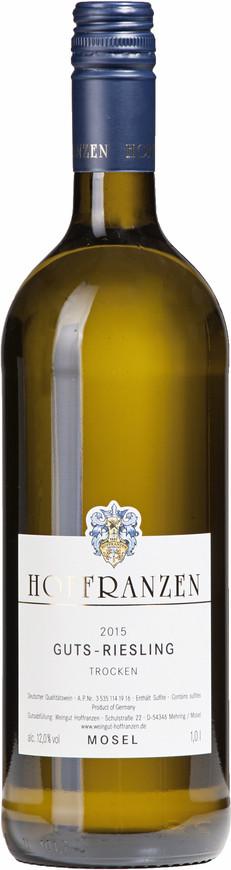 Weingut Hoffranzen, Gutsriesling trocken (1,0 l) , 2015
