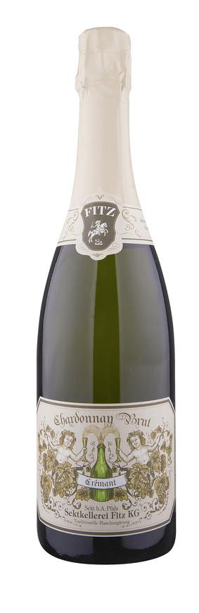 Fitz-Ritter, Crémant brut, Abtsfronhof Chardonnay , 2012