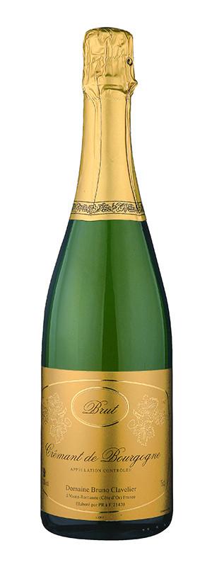 Domaine Bruno Clavelier, Crémant de Bourgogne AOC Blanc, NV