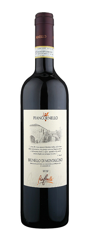 Piancornello, Brunello di Montalcino DOCG, 2012