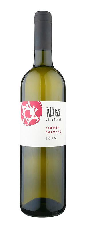 Vinařství Ilias, Tramín červený, pozdní sběr, 2016