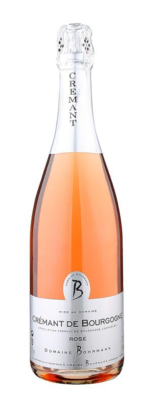 Domaine Bohrmann, Crémant de Bourgogne AOC Rosé, 2015