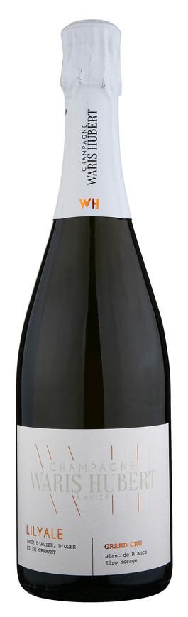 Champagne WARIS HUBERT, LILYALE, Brut Blanc de Blancs Zéro dosage , NV