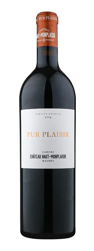 """Château Haut-Monplaisir, Malbec """"Pur Plaisir"""" AOC, 2014"""