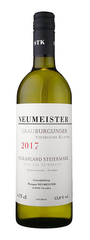 Weingut Neumeister, Grauburgunder Steirische Klasik BIO, 2017