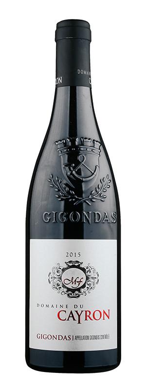 Domaine du Cayron, Gigondas AOC, Rouge, 2015