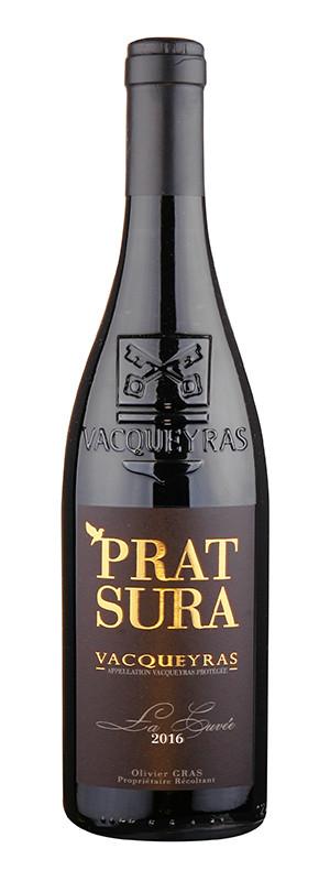"""Domaine Prat Sura, Vacqueyras AOC """"La Cuvée"""", 2016"""