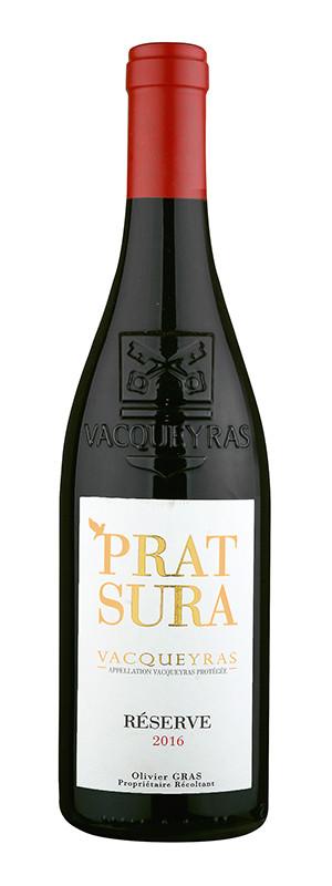 "Domaine Prat Sura, Vacqueyras AOC ""Réserve"", 2016"