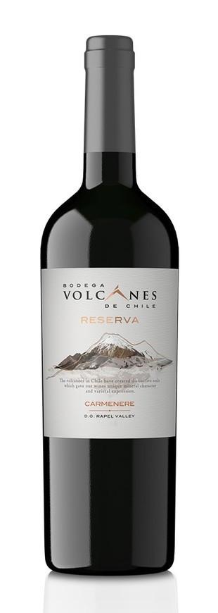 Bodega Volcanes De Chile, Reserva Carmenere, 2018