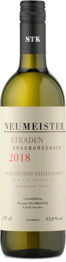 Weingut Neumeister, STRADEN Grauburgunder BIO, 2018
