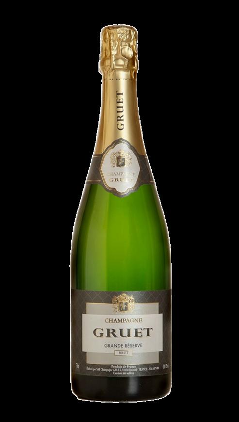 Champagne Gruet, Grande Reserve, NV