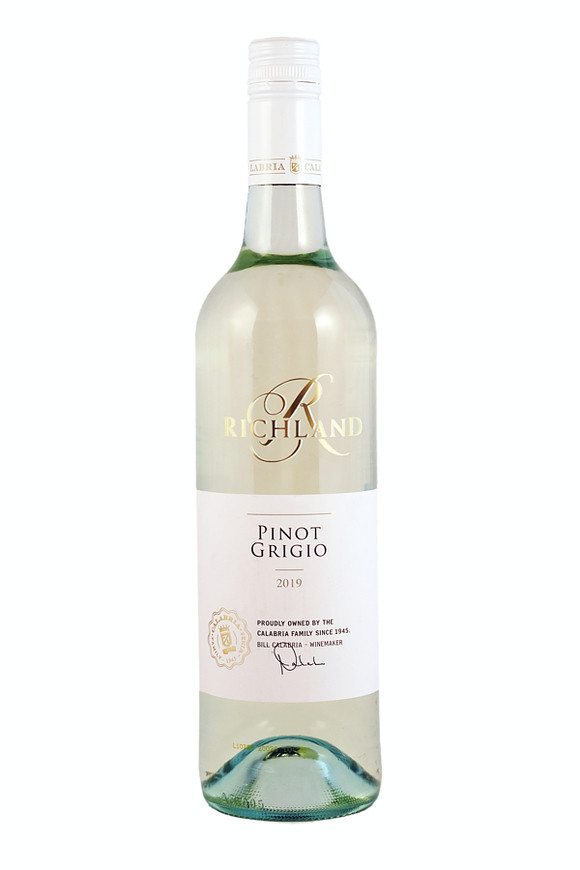 "Calabria Family Wines,  ""Richland Pinot Grigio"", 2019"
