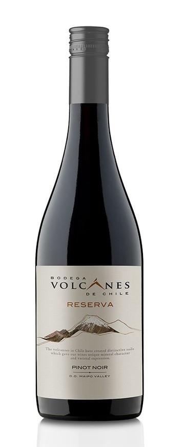 Bodega Volcanes De Chile, Reserva Pinot Noir, 2019