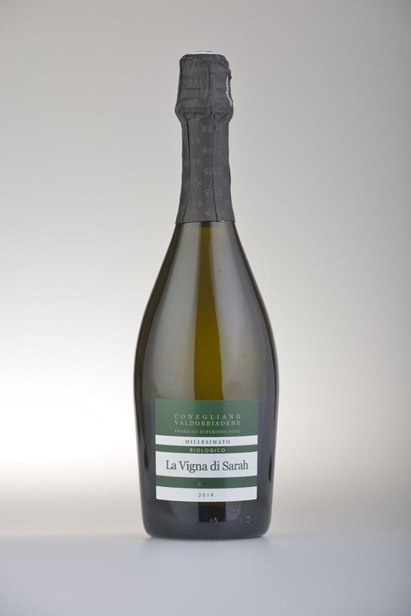 La Vigna di Sarah, Prosecco Superiore Brut DOCG, Vino Biologico, 2020