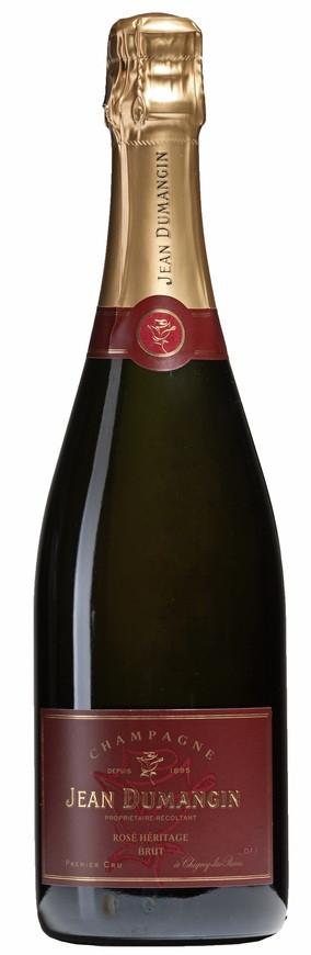 Jean Dumangin, Champagne 1er Cru Brut Rosé, NV