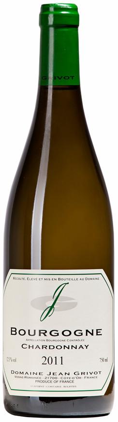 Domaine Jean Grivot, Bourgogne Chardonnay AOC, 2011