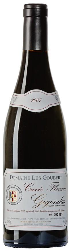 """Domaine Les Goubert, Gigondas AOC """"Cuvée Florence"""", 2007"""