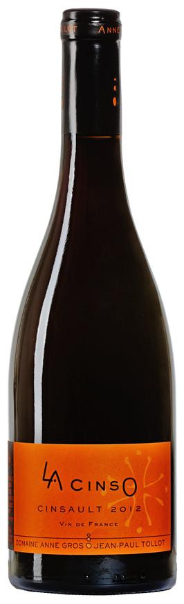 """Domaine Gros-Tollot, Vin de France Rouge """"La CinsO"""", 2012"""