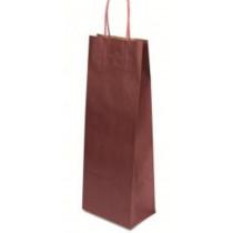 Papírová taška Basic vínová