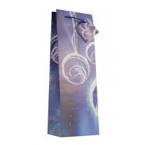 Vánoční taška modrá