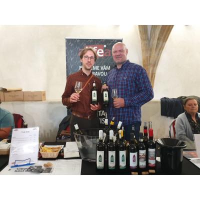 Návštěva z vinařství Cappela Sant'Andrea