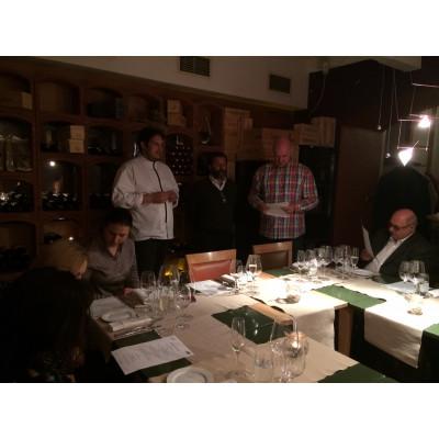 Degustační večeře s Nicolo de Ferarri 27.4. 2017