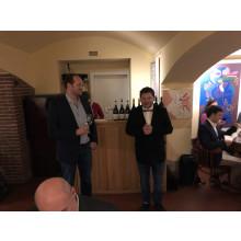 Mike Fischer  s Martinem Markem vtipně prezentují vína od Calabria Wines